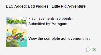 bad piggies nuevos logros