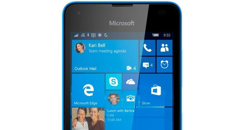 Lumia 550 portada