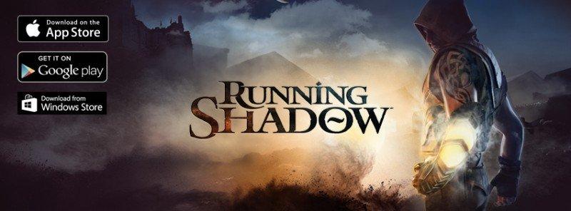 Running Shadow Portada