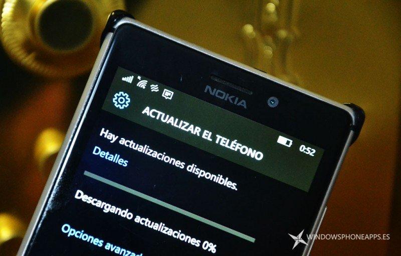 actualizacion windows 10 movil
