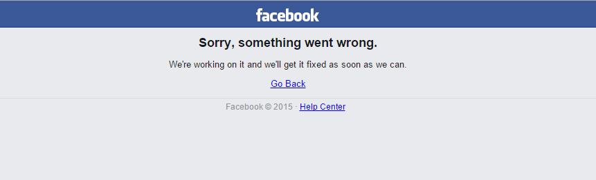 Facebook Caido