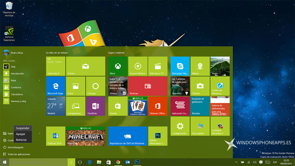 configurar apagado windows 10 - 1