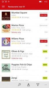 Pronto podrás encargar tu comida con Just Eat desde su aplicación para Windows