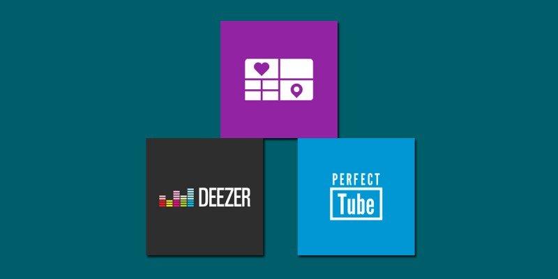 Lumia Storyteller, Deezer y Perfect Tube se actualizan