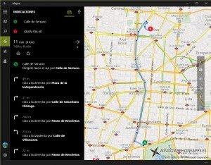 Mapas de Windows 10 ahora ofrece guiado con transporte público en más paises