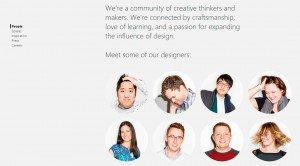Microsoft Design (diseño), sección Comunidad
