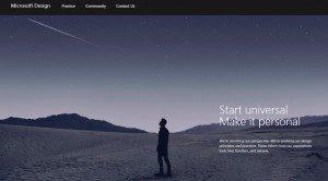 Microsoft Design (diseño), sección Práctica