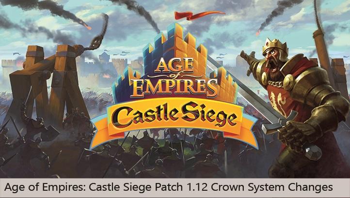 Age of Empires: Castle Siege recibe una gran actualización, y ya se prepara otra más grande aún [ACTUALIZADO: DISPONIBLE EN WINDOWS 10]