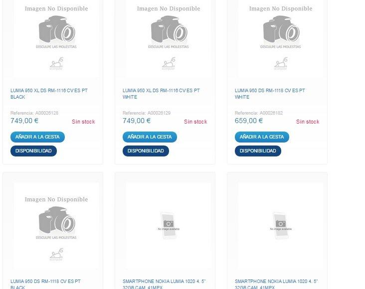 precios lumia 950-950xl