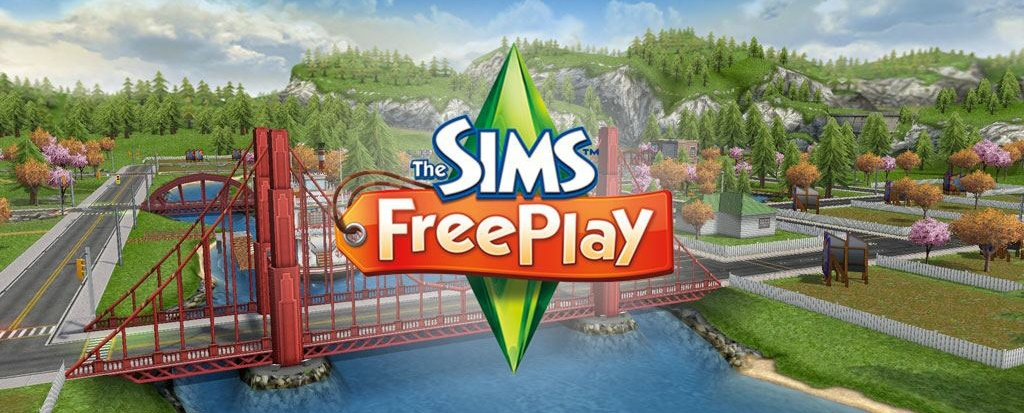 the sims freeplay banner