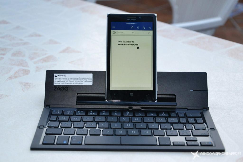 teclado inalámbrico universal ZAGG Pocket