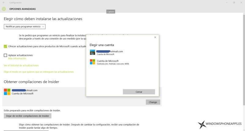 windows 10 - programa insider