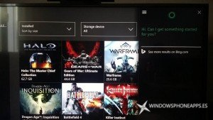 Os mostramos a Cortana funcionando en Xbox ONE