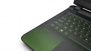 HP Pavilion Gaming Notebook_keyboard detail