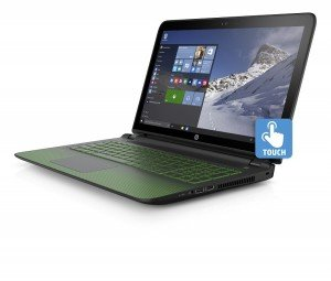 HP Pavilion Gaming Notebook_left facing