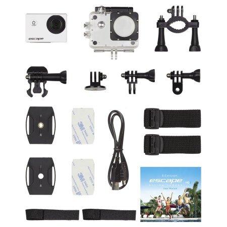 Cámara de acción Kitvision Escape HD5 deportiva Carcasa Impermeable 720p Nuevo en Caja!