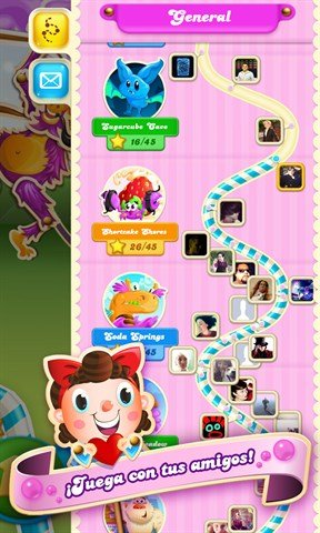 Download Candy Crush Soda Saga for Windows 10 . This game allows you to  play your favorite match-3 type games.
