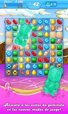Candy Crush Soda Saga Se Actualiza Añadiendo Nuevos Niveles Para Jugar