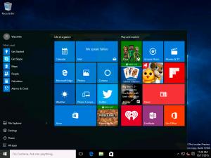 Windows 10 Build 10568 ya circula por la red y tenemos imágenes de ella