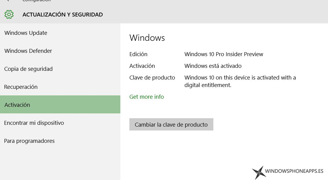 activacion windows 10