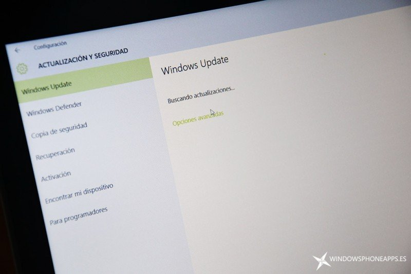 actualizacion Windows 10 pc
