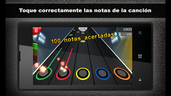 Rockea con la llegada de Guitar Flash a Windows Phone