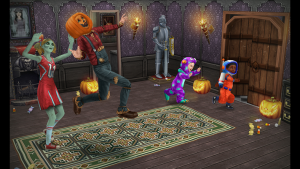 Los monstruos de Halloween llegan a la ciudad de The Sims FreePlay