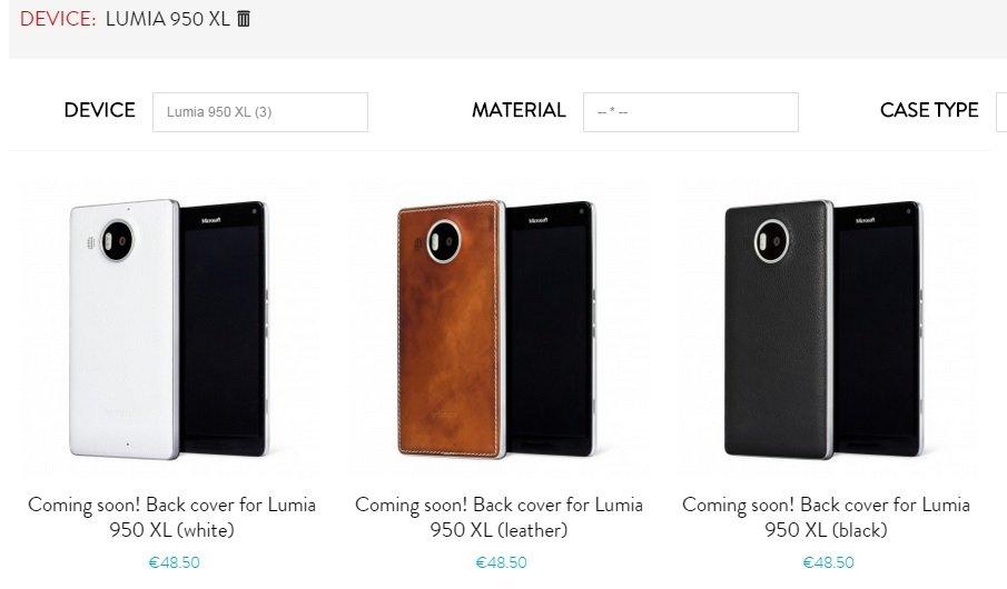 carcasas lumia 950xl