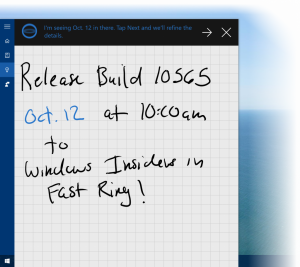 Novedades de la Build 10565 de Windows 10 PC