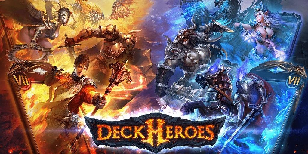 9711a109d Deck Heroes es un muy popular juego de cartas con una larga legión de  jugadores que ya triunfa en las tiendas de Android