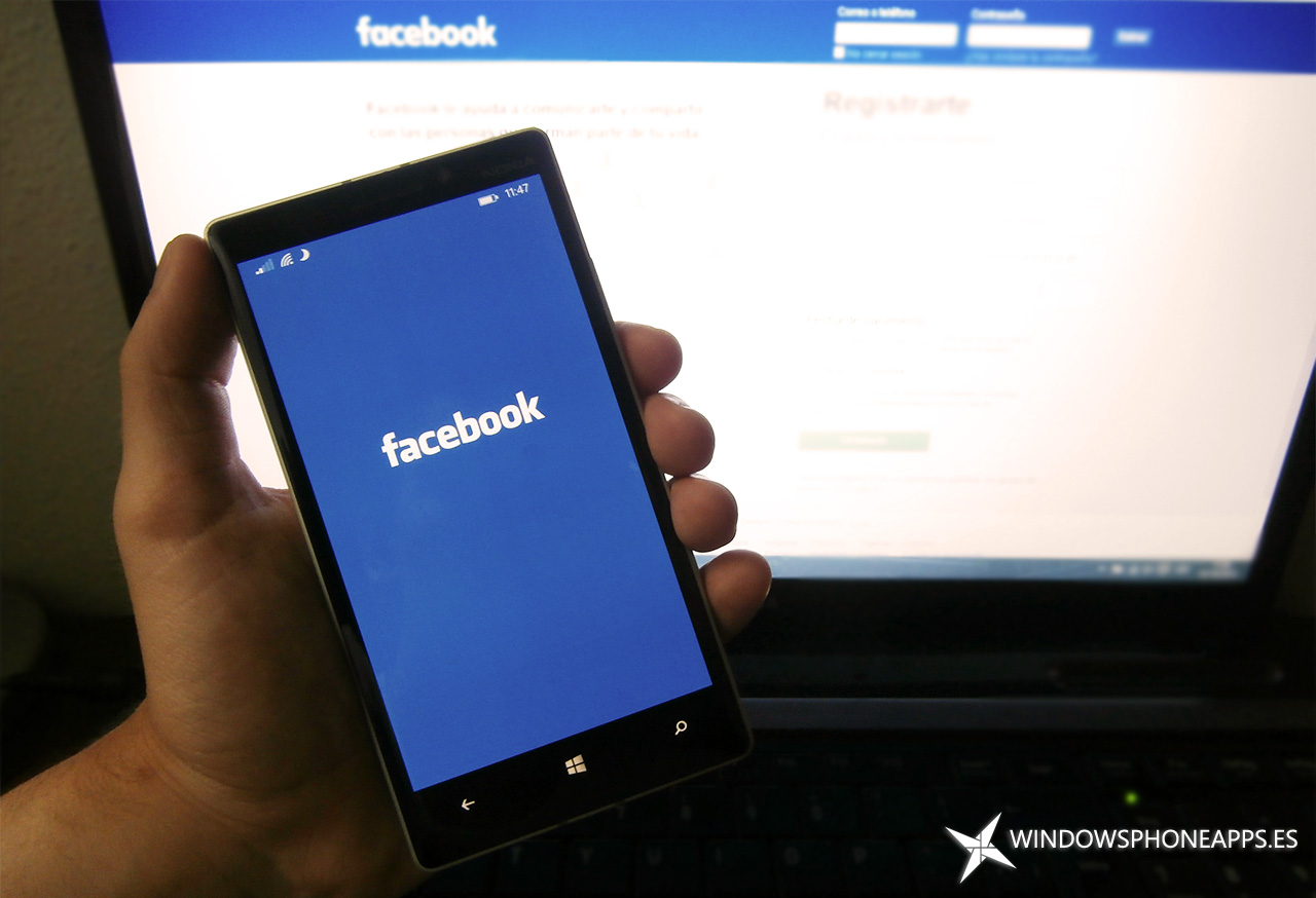 Facebook Beta para Windows 10 Mobile se actualiza con mejoras en las configuraciones