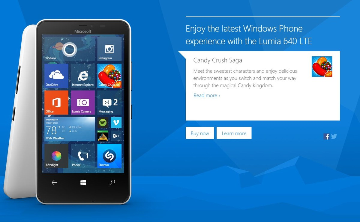 Nokia lumia 640 windows 10