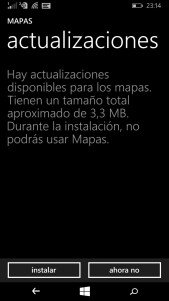 Los mapas de Windows se actualizan