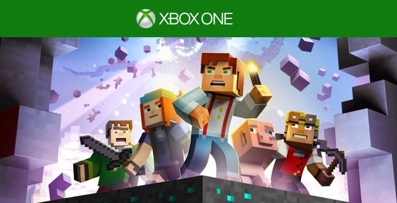 minecraft story mode episodio uno
