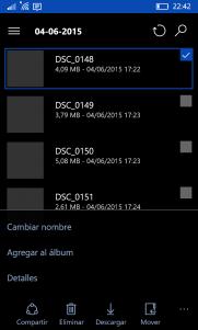 La aplicación de OneDrive se actualiza y prepara la llegada de los álbumes en Windows 10 Mobile