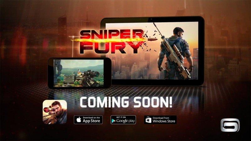 Sniper Fury de Gameloft