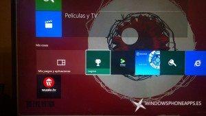 Vídeo e imágenes de Windows 10 en Xbox One
