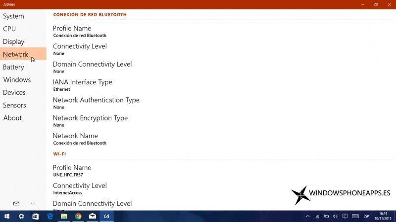 AIDA64 ya es Aplicación Universal en Windows 10