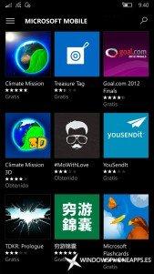 Las aplicaciones Lumia ya están de vuelta para Windows 10 Mobile