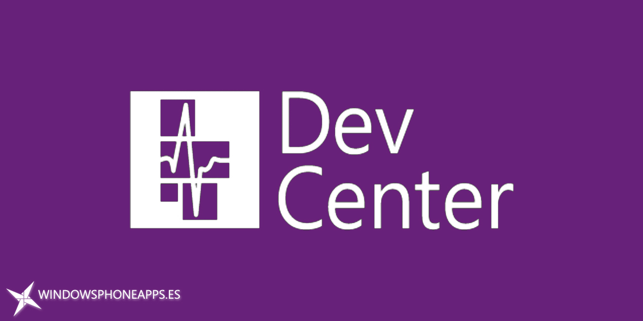 Centro de desarrollo de Windows, aplicación Dev Center