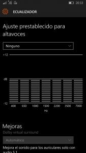 Ecualizador en Windows 10 Mobile (1)