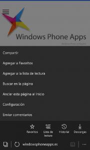 ¿Sabías qué... puedes cambiar el buscador predeterminado de Edge en Windows 10 Mobile?