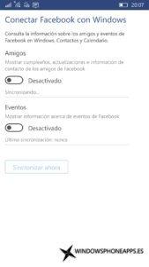 Facebook para Windows 10 Mobile (4)