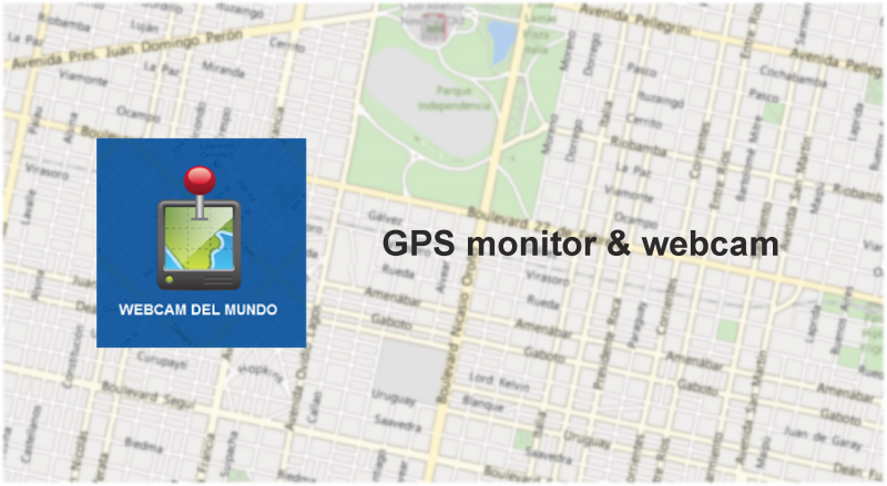 GPS monitor & webcam port