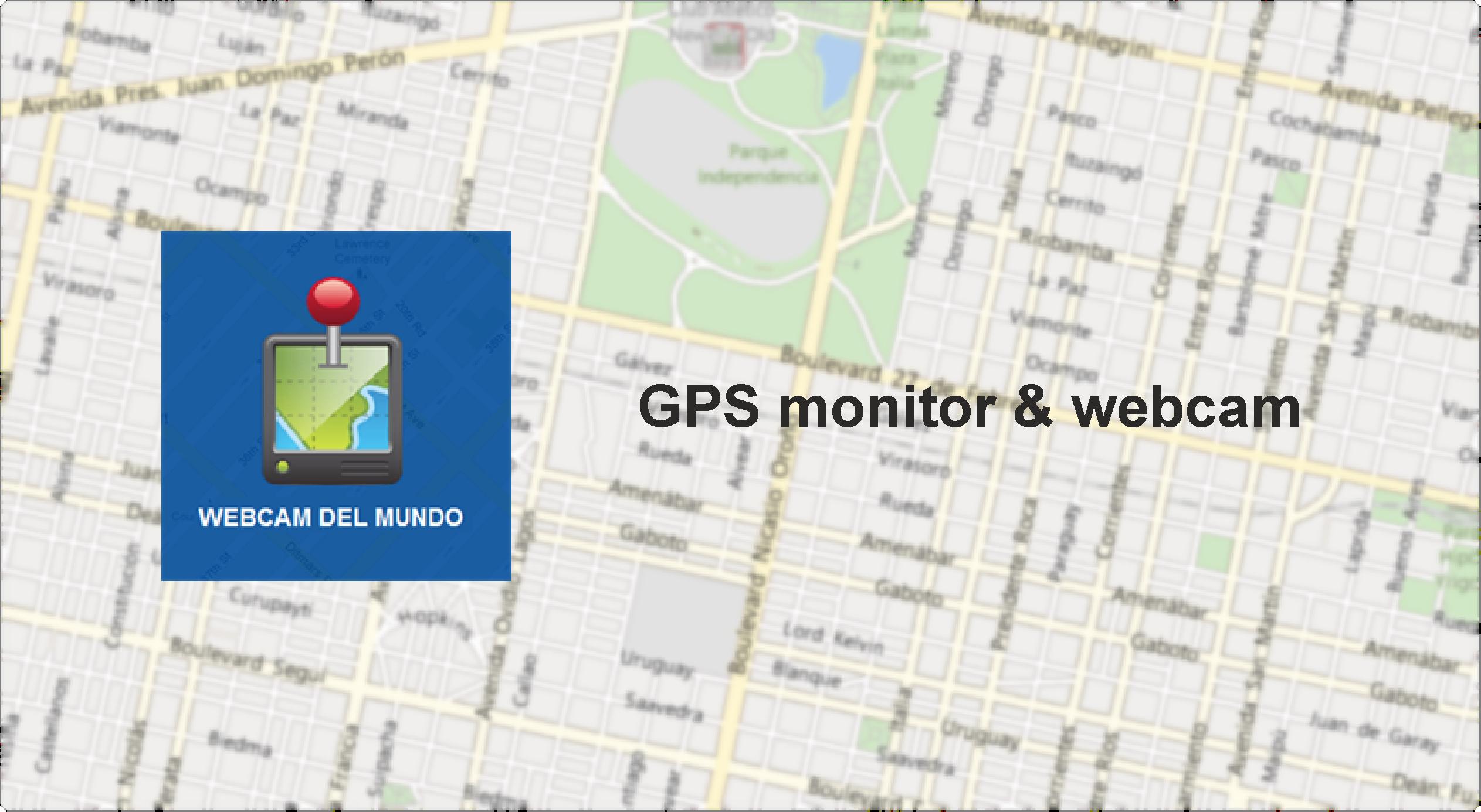 GPS monitor & webcam port