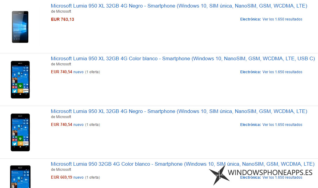 Lumia 950 - 950 XL