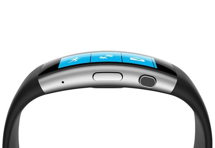 Antigua pulsera de ejercicio Microsoft Band 2