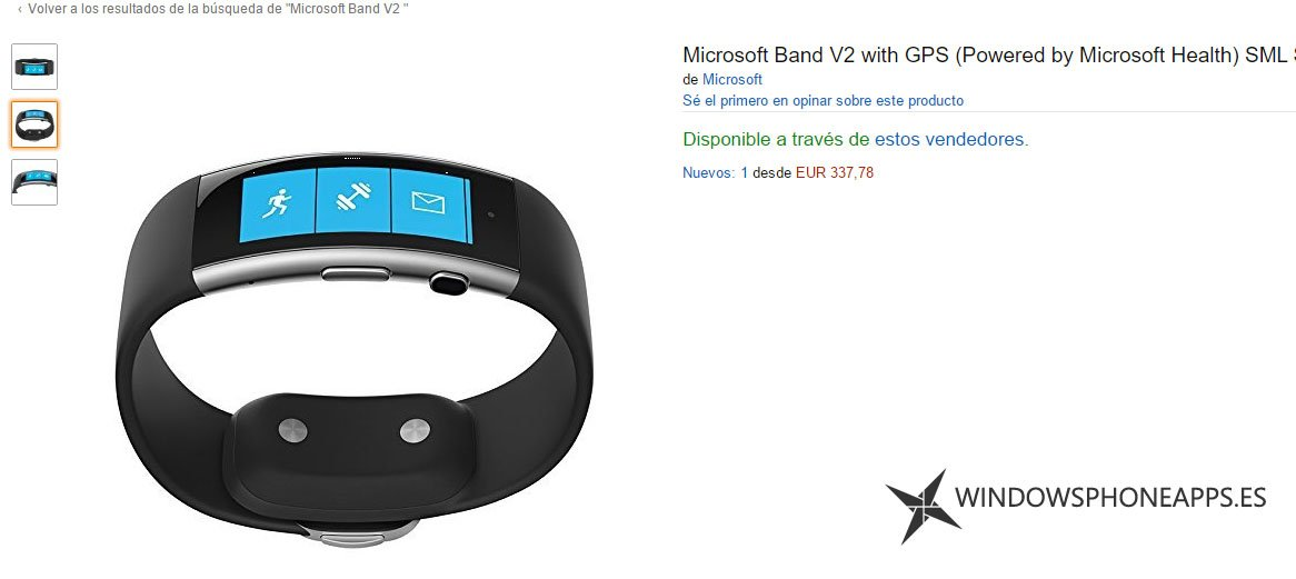 Microsoft band 2 en amazon