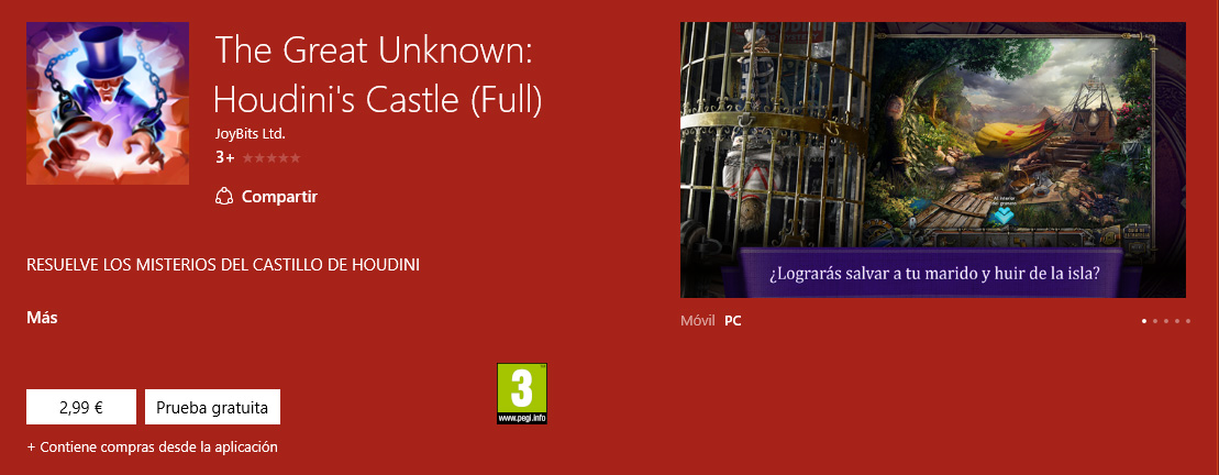 The Great Unknown Houdini's Castle (Full) portada