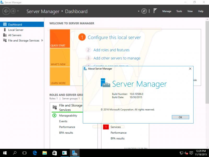 Ya está disponible Windows Server 2016 Technical Preview 4